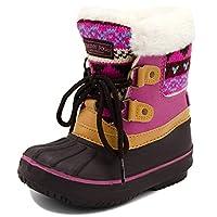 London Fog Girls Toddler Tottenham Cold Weather Snow Boot