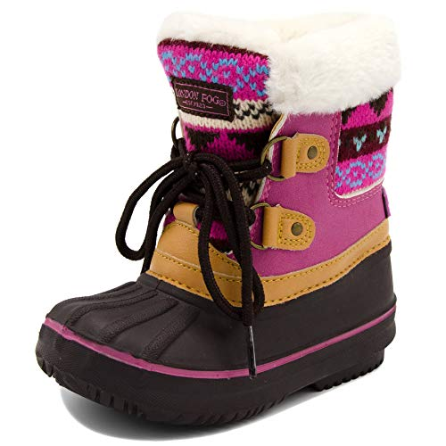 17c9de1f9ac 3 · London Fog Girls Toddler Tottenham Cold Weather Snow Boot BR FUS Size 6  Toddler Brown