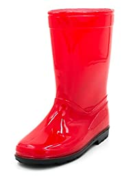 Generic Big Boys' Rubber Rain-Boots