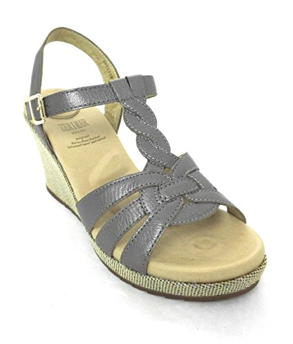 for Leather Zerimar Metal Sandals Women Sandals Women Elegant Platform Sandals Women xfCwZqT