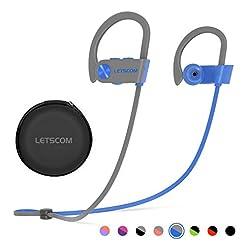 Bluetooth Headphones, LETSCOM Wireless E...