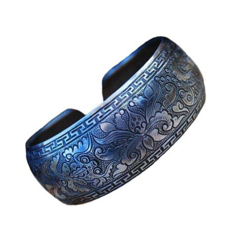 UPC 738435896423, Fine 999 Cuff Bracelet High Purity Sterling Silver Jewelry 100% Handcrafted #101