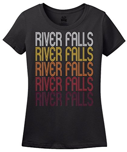 River Falls, WI | Retro, Vintage Style Wisconsin Pride T-shirt