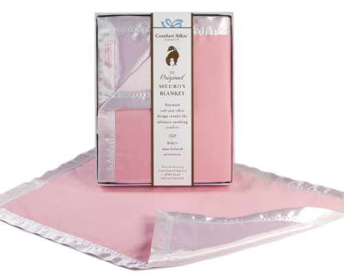 - Pink COMFORT SILKIE Security Blanket ~ The Original. The Best. Award Winning.