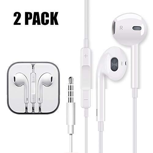 Amazoncom 2 Pack Earphones Earbuds Headphones For Apple Headphones