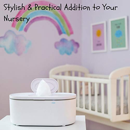 41 j8kFjb0L - Wipes Warmer For Babies | Baby Wipe Warmer And Baby Wet Wipes Dispenser | Large Capacity & No Leakage!