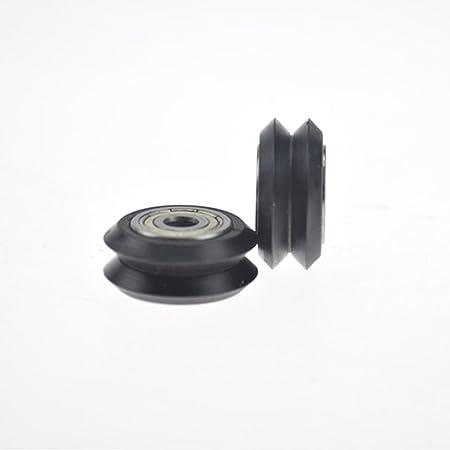 Rueda en V con polea para impresora 3D y CNC, 8 mm: Amazon.es: Hogar