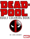 Deadpool: Adult coloring book