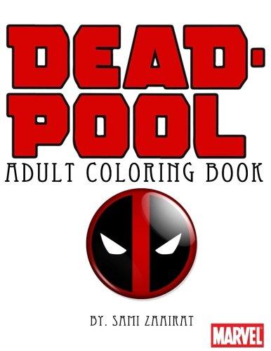 Deadpool: Adult coloring book -