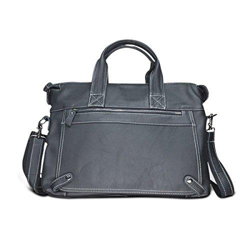 FZHLY Herren Aktentasche Lässige Schultertasche Messenger Bag