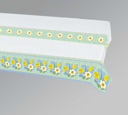 Daffodil Paper Tablecloth 54' x 84'