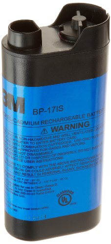 3M Intrinsically Safe NiCd Battery Pack BP-17IS, for Cartridges and Filters