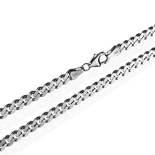 nklaus véritable-en argent massif 925collier roi collier 5,40mm de large