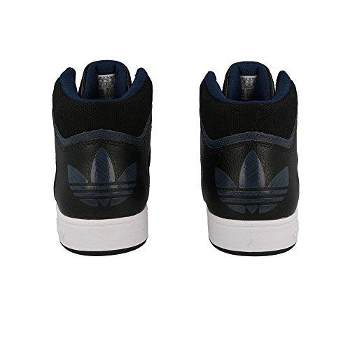 adidas uomini varial metà hitop formatori 7npkow nero