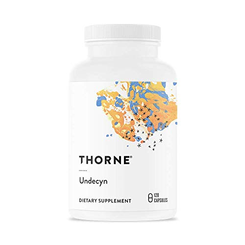 - Thorne Research - Undecyn - Undecylenic Acid (in the Form of Calcium Undecylenate) with Betaine HCL and Berberine - 120 Capsules