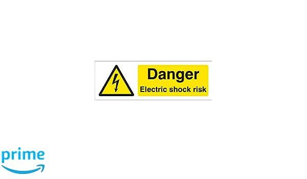Caledonia signos 14029 G peligro descarga eléctrica riesgo ...