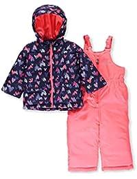 OshKosh Girls Printed Heavey Weight Winter Coat and Snow...