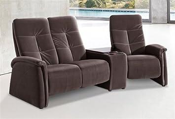 3 Sitzer City Sofa Mit Relaxfunktion Braun Mit Integrierter