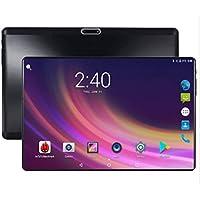 2019 Nueva PC con Tableta Android 8.0 de 10.1 Pulgadas Deca Core 4GB RAM 64GB ROM 2560 * 1600 resoluciones WiFi Bluetooth Tarjetas SIM duales Tabletas 3G 4G LTE + Cubierta Protectora Gratuita(Black)