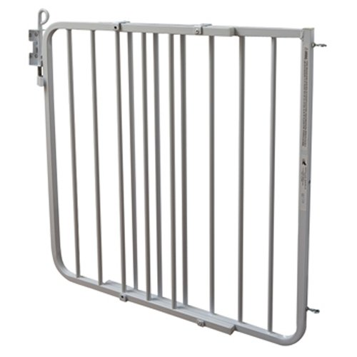 - Cardinal Gates Auto-Lock Gate, White