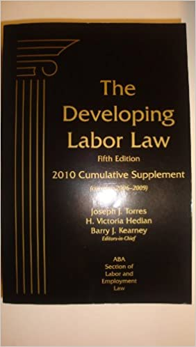 Descargar libros de epub para koboDeveloping Labor Law, 5th Edition, 2010 Cumulative Supplement PDF PDB CHM 1570188688