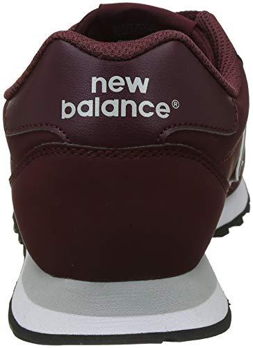 New Sneaker Homme Gm500rdg Balance Bordeaux Rouge xZxUS