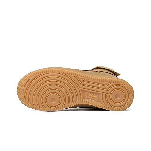 Nike Air Force 1 High GS Flachs (Flachs / Flachs-Outdoor Grün) Flachs / Flachs-Outdoor Green