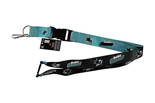 San Jose Sharks NHL Reversible Lanyard Keychain ID - Jose San Mall