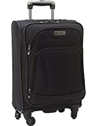 Heritage Wicker Park 20 Carry-on Suitcase, Black