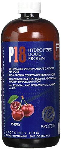 Proteinex Liquid Protein - Proteinex 18 Liquid Protein 30 oz Bottle, Cherry