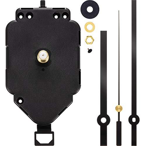 Pendulum Clock Movement Replacement Long Shaft Pendulum Quartz Clock Movement Mechanism Clock Hands for DIY Clock