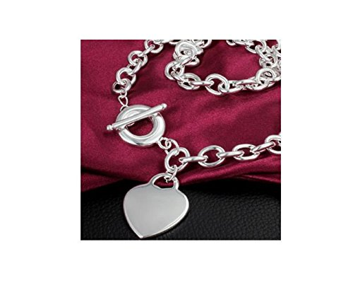 Women Fashion Jewelry 925 Silver Pendant Necklace -YDHP185 - 2