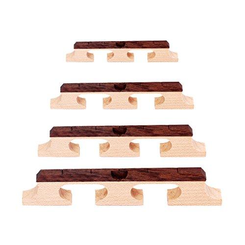 Padory Banjo Bridge-5 String 3 Feet Rosewood 5/8 1/2 11/16 3/4 Parts Accessories, Musical Guitar Instruments