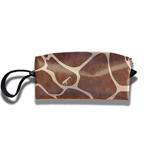 Coin Pouch Giraffe Prints Pen Holder Clutch Wristlet Wallets Purse Portable Storage Case Cosmetic Bags Zipper
