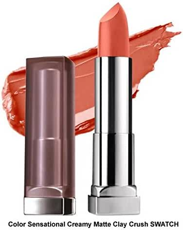 Maybelline New York Color Sensational Creamy Mattes Lipstick 0.15 Ounce