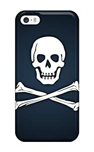 XiFu*MeiHigh Quality GMgbbeA55jlNac Skull Dark Abstract Dark Tpu Case For Iphone 5/5sXiFu*Mei