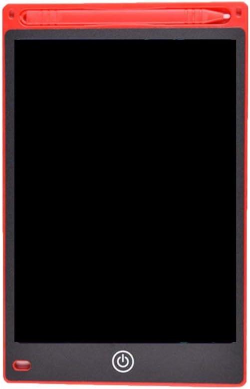 8.5インチの目の保護電子描画パッドLCD画面書き込みタブレットデジタルグラフィック描画タブレット(赤)