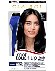 Clairol Root Touch-Up Permanent Hair Dye, 2 Black Hair Color, 1 Count