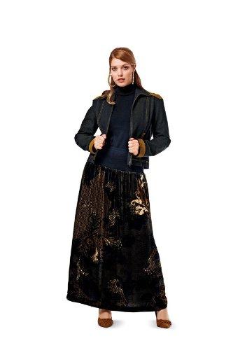 Burda Plus Sizes Sewing Pattern 7002 - Skirt Sizes: 18-34