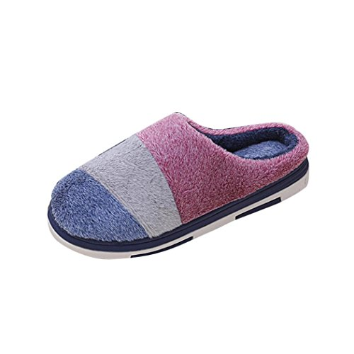 Chaussons Marine fulltime® Home Slippers Chaussures Accueil Coton Soft Floor rembourrées ZqUaxU6P