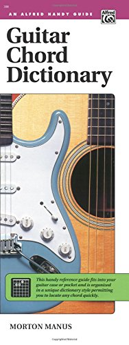 Guitar Chord Dictionary: Handy Guide (Alfred Handy Guides)