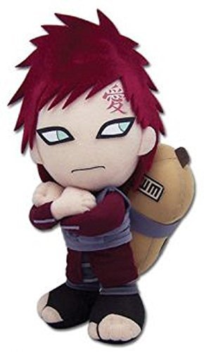 "GE Entertainment Naruto Shippuden Plush Toy - 8"" Gaara Kazekage (GE-8902)"