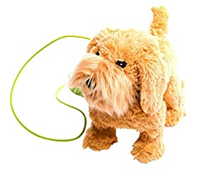 MEVA Kids Walking and Barking Pet Puppy Dog with Remote Control Leash
