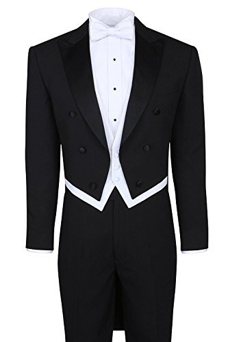 3 Piece Black Tuxedo - 1