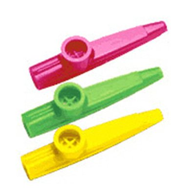 KAZOO CLASSPACK PACK OF 50 ASSORTED-COLORS-Learning Materials/t&g-Music-Instrume