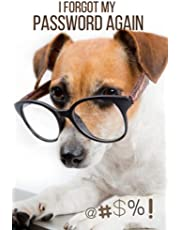I Forgot My Password Again, Password Book and Internet Password Organizer, Alphabetical Password Log Book: Protect and Keep Track of All Your Important Website Addresses, Usernames and Passwords in One Secure Convenient Place