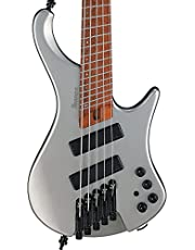 Ibanez EHB1005SMS Ergonomic Headless Metallic Gray Matte 5-String Electric Bass photo