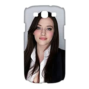 Design Snap-on Sexy Actor Kat Dennings Beautiful Woman Pictures Hard Plastic Protective Durable Back Case Shell for Samsung Galaxy S3 I9300 Case-5
