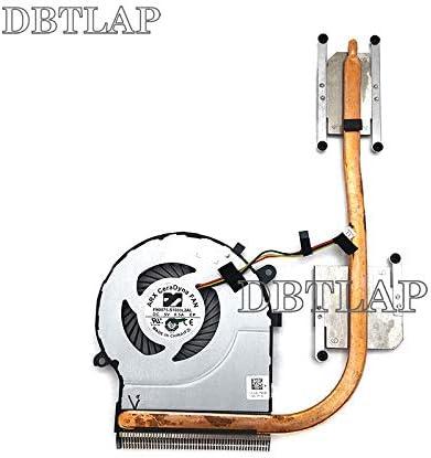 DBTLAP Nuevo Ventilador para Toshiba Satellite C50-C C55-C C55D-C L50-C L50D-C L55-C L55D-C L55T-C Heatsink Ventilador para Discrete Graphics Card