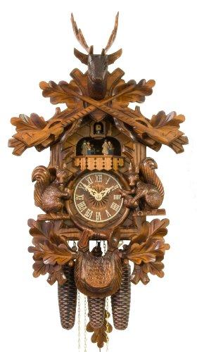 (Adolf Herr Cuckoo Clock - Squirrels)
